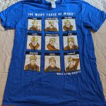 Many Faces of Wash shirt