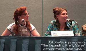The Expanding Firefly 'Verse at Wizard World Chicago 2017