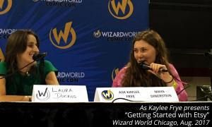 Getting Started with Etsy at Wizard World Chicago 2017